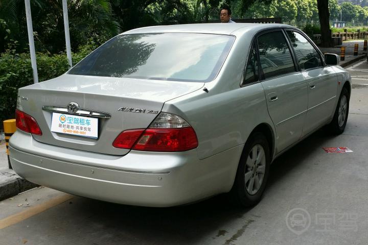 自动档2006【深圳丰田亚洲龙租车】