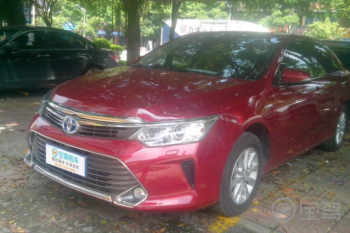 丰田凯美瑞 2012款 尊瑞 2.5L CVT HG 豪华版