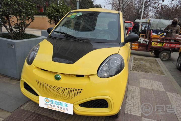 知豆电动车 2014款 吉利 d1
